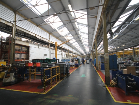 Perkins Engines, Stafford | KGM Roofing