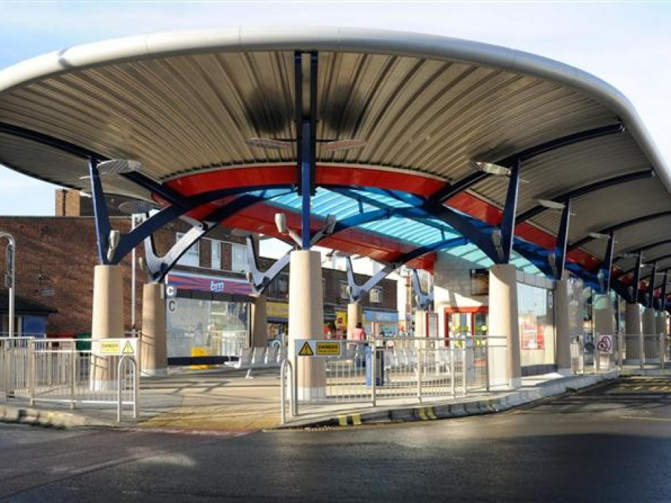 Pudsey Bus Station Kgm Roofing