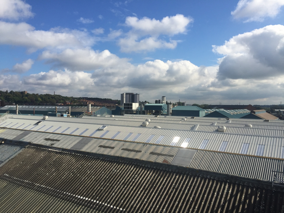 Siemens Re Roof Bays 2 8 Kgm Roofing