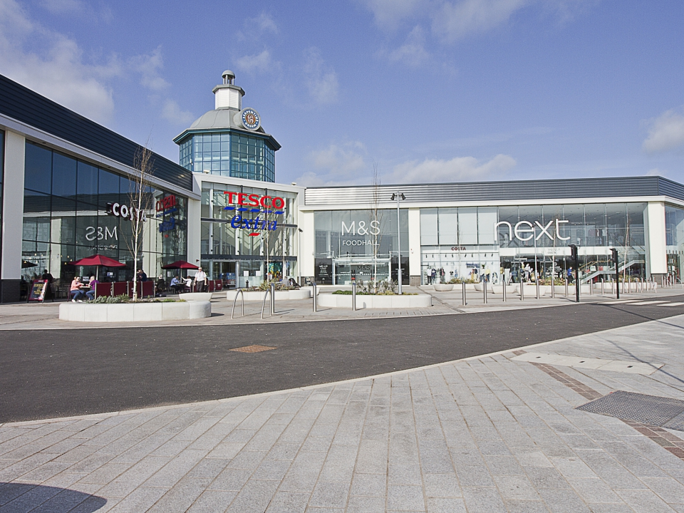 Serpentine Green Shopping Centre Kgm Roofing